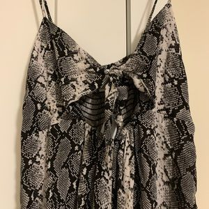 Patterned jumpsuit NEW w/tags